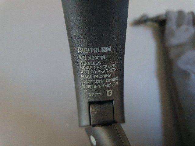 Headphone Sony WH-XB900N - Cancelamento de Ruído - Foto 4