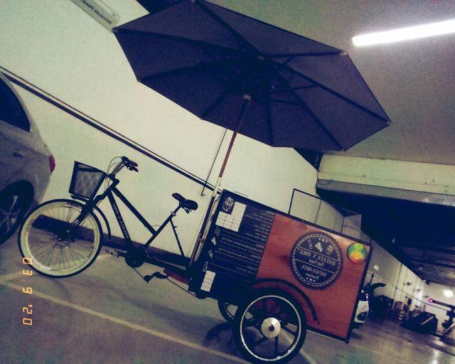 Fast food carrinho de batata frita da pra montar outros tipo de comida tambem aceito troca - Foto 5