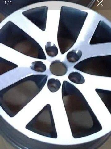 Jogo 4 Pçs Calotas Rodas Liga Mitsubishi Pajero Tr4, L200 Triton. - Foto 2
