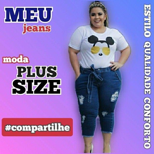 Moda Plus Size Feminina - Foto 4