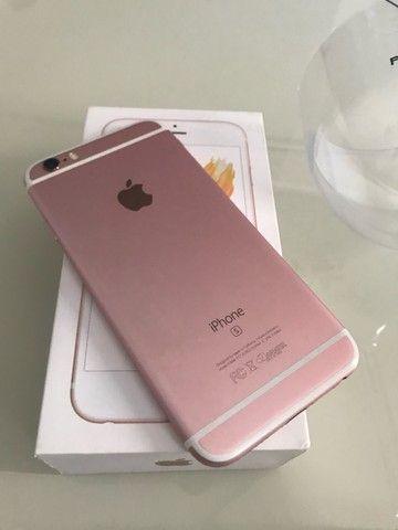 iPhone 6s Rose 32GB - IMPECÁVEL  - Foto 3