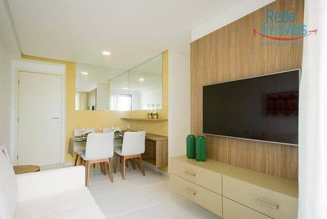Apartamento com 2 dormitórios à venda, 52 m² por R$ 460.000,00 - Aflitos - Recife/PE - Foto 2