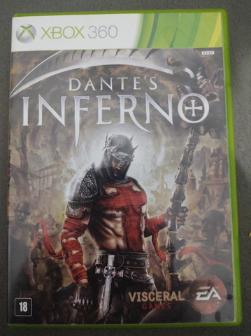 Jogos Xbox 360 Dant's Inferno
