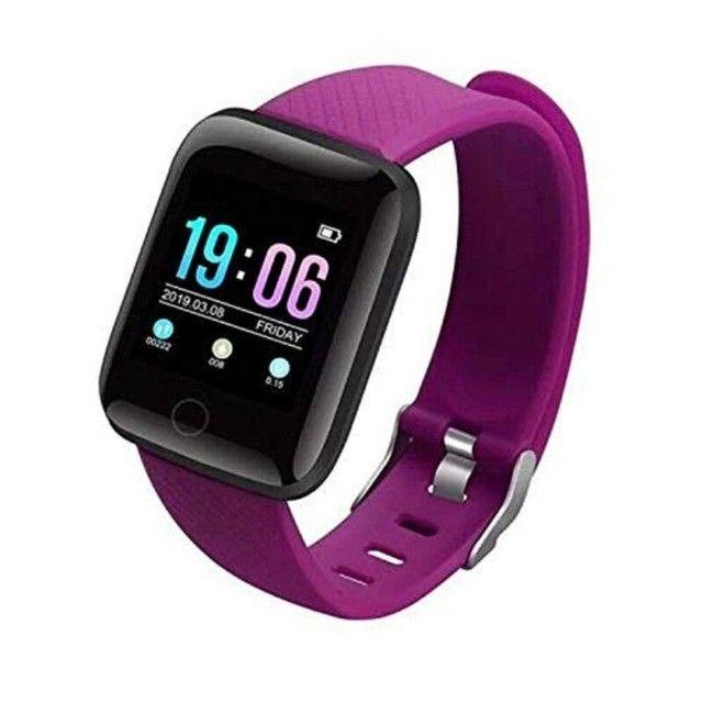 Promoção Dia Dos Pais Lindos Relógios Digitais Smartwatch Coloca Fotos - Foto 2