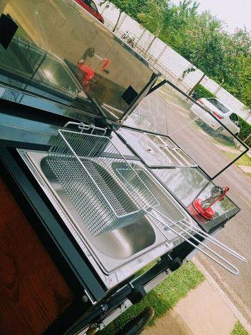 Fast food carrinho de batata frita da pra montar outros tipo de comida tambem aceito troca - Foto 4