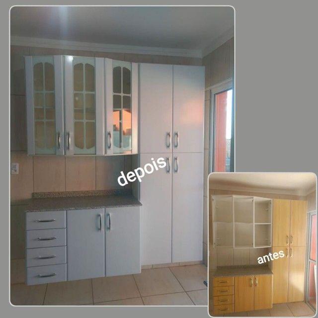 Envelopamento de armario de cozinha - Foto 4