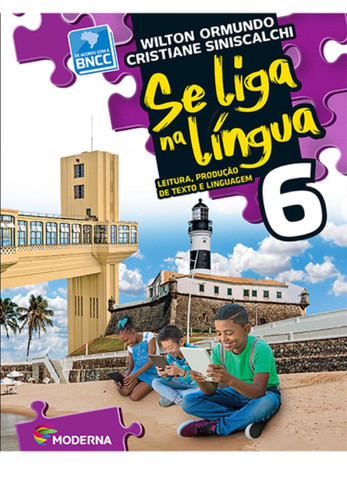 Livro Se Liga na Língua 6