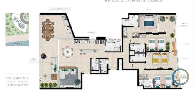 Apartamento à venda com 4 dormitórios em Riviera, Bertioga cod:518 - Foto 7