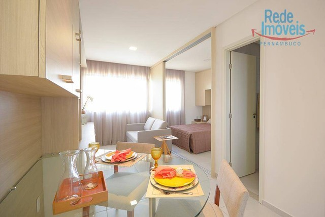 Apartamento com 2 dormitórios à venda, 52 m² por R$ 460.000,00 - Aflitos - Recife/PE - Foto 5