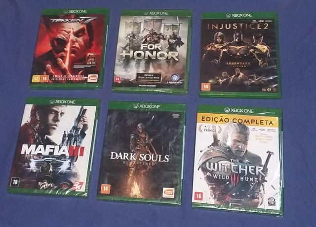 Jogos Xbox One lacrado zap * - Foto 4