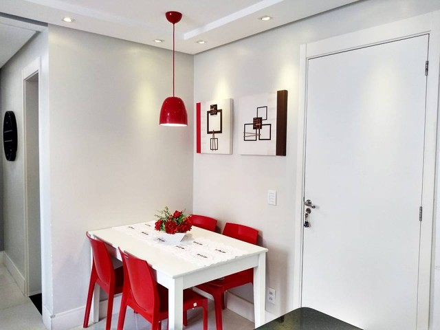 OPORTUNIDADE - Lindo apartamento 2 quartos com suíte - Armários planejados em Abrantes, Ca - Foto 6