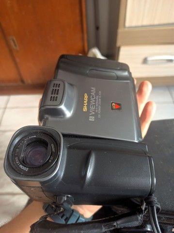 Filmadora Sharp funcionando relíquia - Foto 2