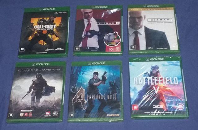 Jogos Xbox One lacrado zap *