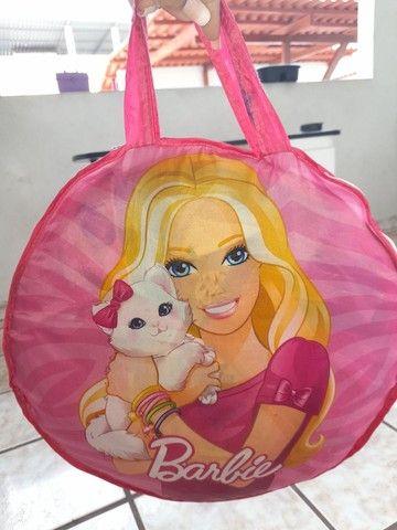 Barraca infantil barbie(faço o preço até 100) - Foto 2