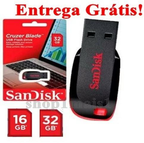PenDrive SanDisk Cruzer Blade 16GB 32GB