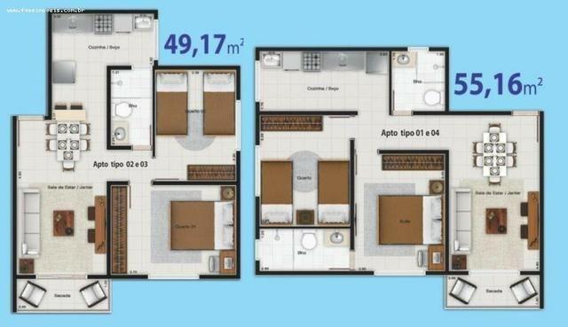 Apartamento para Venda, Ananindeua/PA, bairro Maguari, 2 dormitórios, 1 suíte, 2 banheir - Foto 8