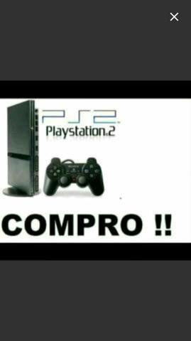 Playstation 2. pago ate 100
