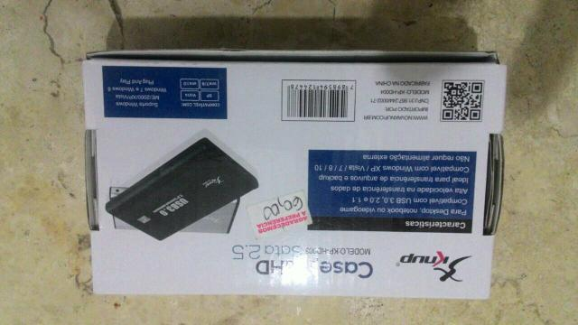 HD Case USB 3.0 para HDs de Notebook
