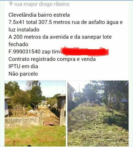 Lote $40.000,00 Clevelândia