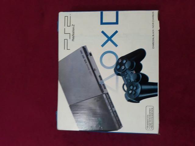 Aparelho sony original Playstation 2 completo