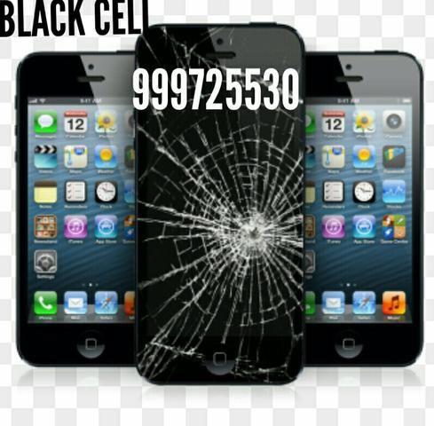 Troca de tela de smartphone