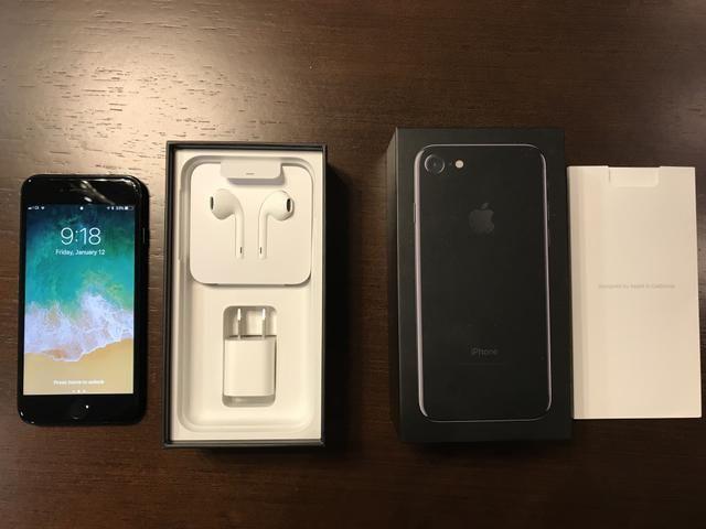 IPhone 7 128G Jet Black USADO