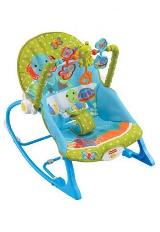 Cadeira de Descanso Musical Baby Colorida Fisher-Price