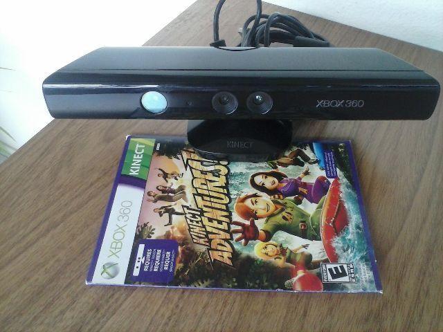 Kinect para x-box 360 semi novo com 1 jogo