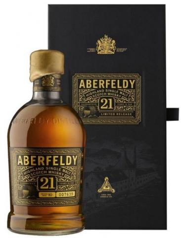 Whisky Aberfeldy 21 anos 700 ml - Highland Single Malt