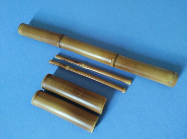 Kit 5 bambus para massagem
