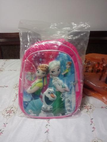 Mochila Frozen e Elza
