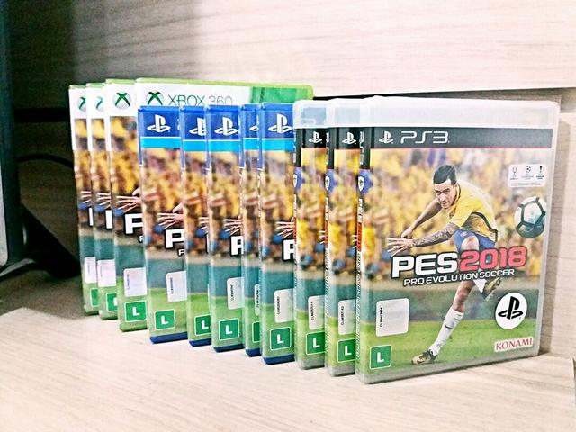 Pes 2018 lacrado PlayStation 4