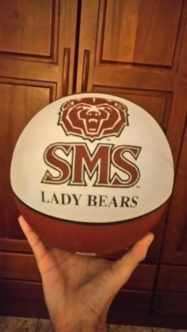 Bola de Basquete Universidade do Missouri ( item raro no Brasil)