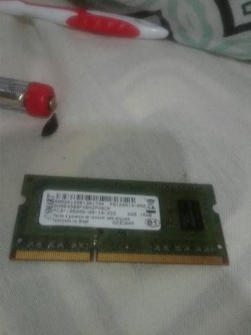 Memoria Ram Notbook 2GB DDR3