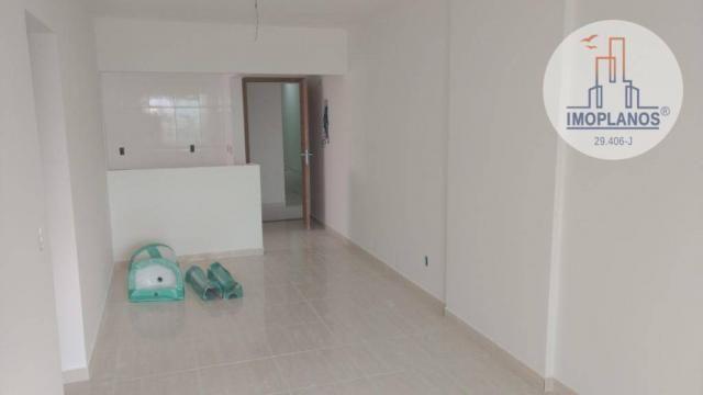 Apartamento com 2 dormitórios à venda, 72 m² por r$ 322.000 - canto do forte - praia grand - Foto 5