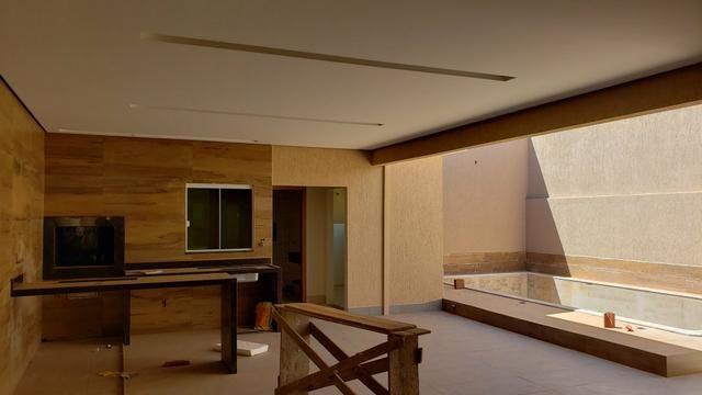 Casa nova 3quartos 3suites piscina churrasqueira rua5 Vicente Pires - Foto 12
