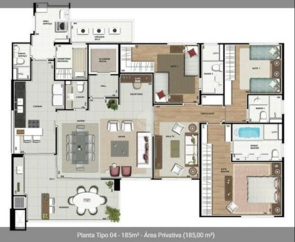 Apartamento Arquiteto Vilanova Artigas no Jardim das Américas - Foto 16