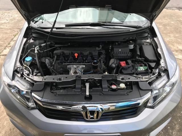 Honda Civic LXR 2.0 Automatico 2014 Completo Unico Dono - Foto 17