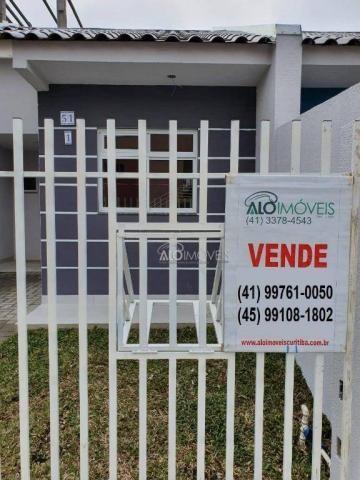 Casa com 2 dormitórios à venda, 36 m² por r$ 155.000,00 - ganchinho - curitiba/pr - Foto 6