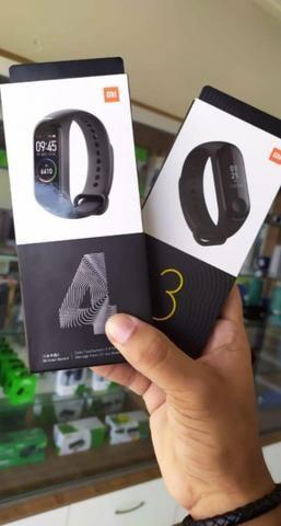 Smartwatch Xiaomi Mi Band 4 Display Colorido-(Loja Wiki)-Bairro Cohab