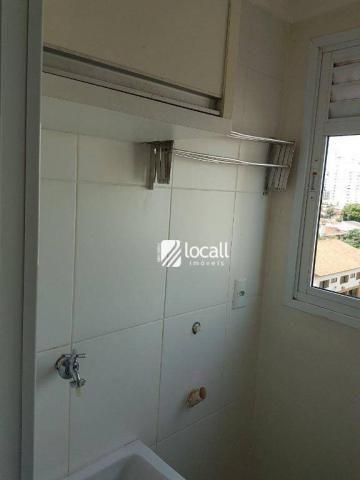 Apartamento para alugar, 40 m² por R$ 1.500,00/mês - Vila Redentora - São José do Rio Pret - Foto 11