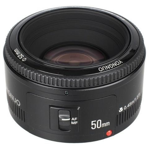 Lente Yongnuo YN50mm F1.8 Para Canon - Foto 3