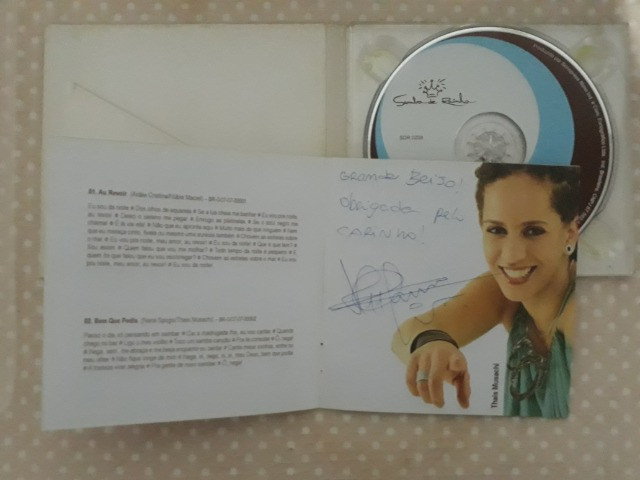 CD Samba de Rainha - Vivendo Samba - autografado - Foto 4