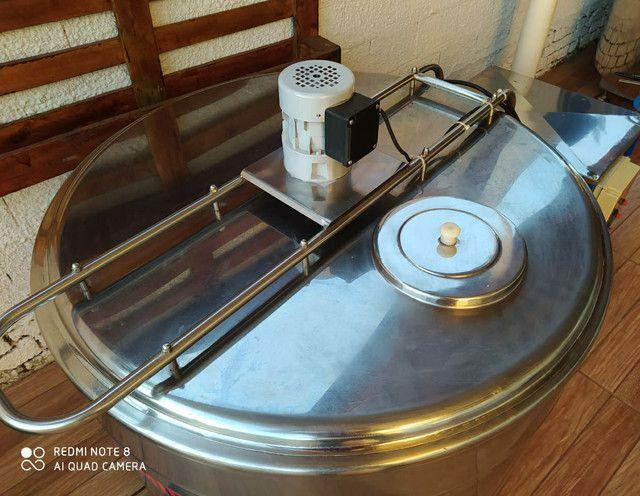 Refrigedor de Líquidos em Inox A Granel Semi Novo 300 Litros  - Foto 3