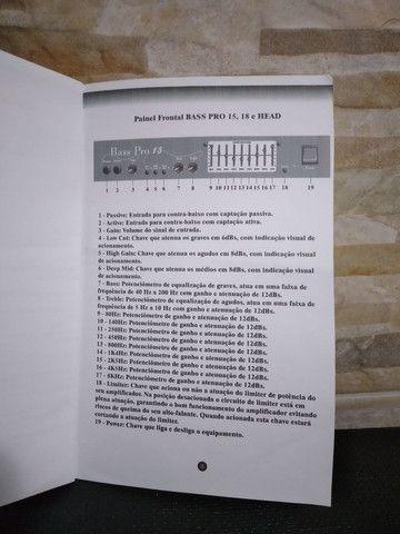 Caixa amplificador contra baixo  - Foto 3