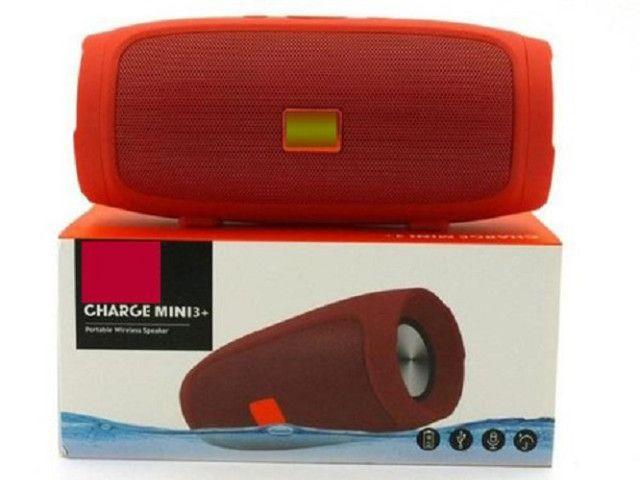 R$139,90 Caixa De Som Importada Charge 3 + Bluetooth - Foto 6