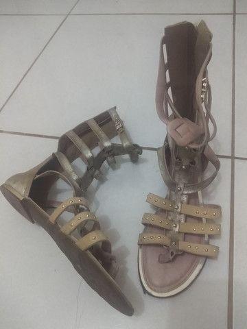 Sandália gladiadora - Foto 3
