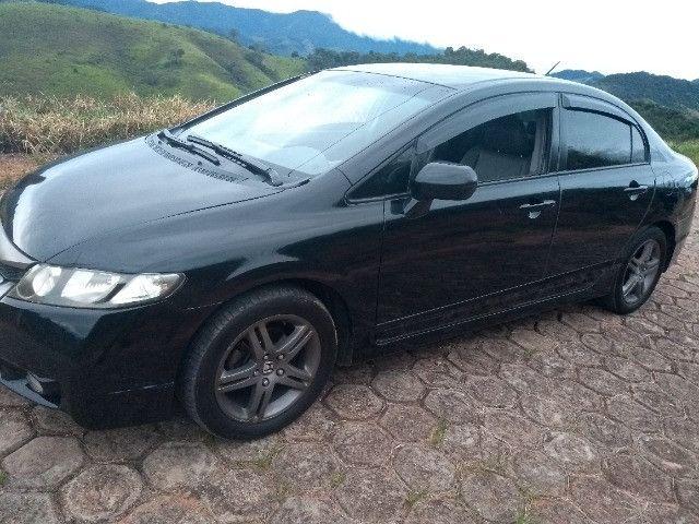 Honda New Civic lxs sedan completo automático flex ano 2010 - Foto 8