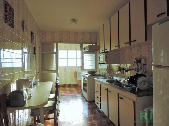 Apartamento na praia, Vista mar, 3 dormitórios, Lazer, 1 vaga, Astúrias, Guarujá. - Foto 16