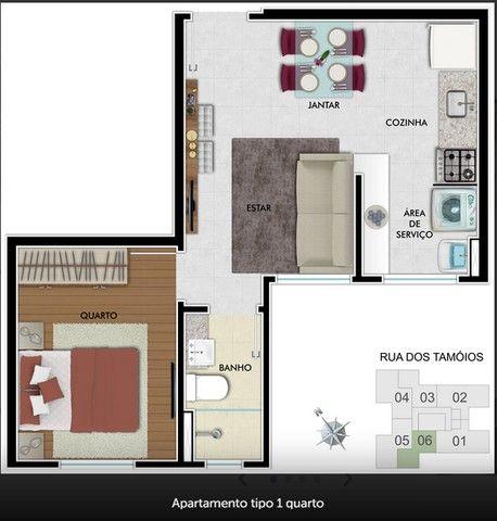 Apartamento De  1 e 2 Quartos Centro-BH Com Lazer - Foto 9